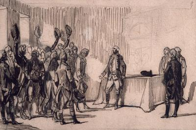 George Washington Applauded by His Officers at the End of Hostilities, American War of Independence