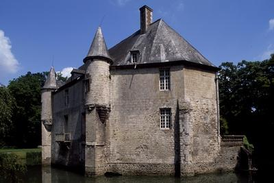 View of Chateau De Creminil, Estree-Blanche, Nord-Pas De Calais, France, 15th-19th Century