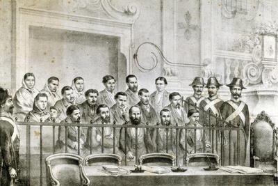 Trial of the Defendants Dacco-Parodi, Italy