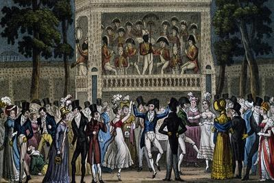 Dance Party at Vaux Hall, London, England