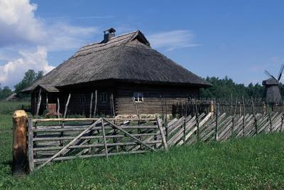 Building of the Open Air Ethnographic Museum, Rumsiskes, Dzukija, Lithuania