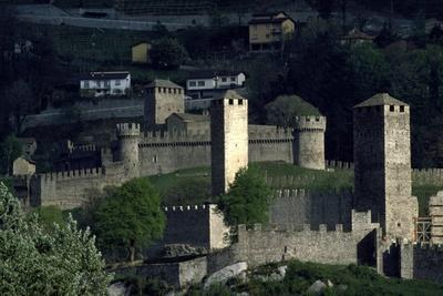 Castelgrande in Bellinzona ,Switzerland