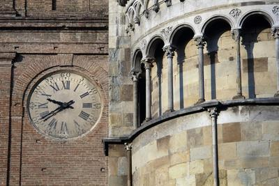 Architectural Detail from the Exterior of the Apse, Church of San Donnino, Fidenza, Italy