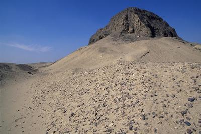Pyramid of Sesostris Ii, El-Lahun, Fayyum Region, Egypt