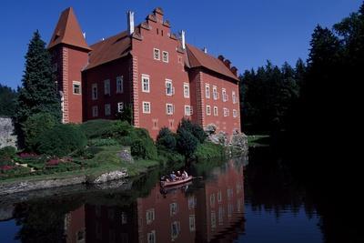 Cervena Lhota Castle, Near Jindrichuv Hradec, Bohemia, Czech Republic
