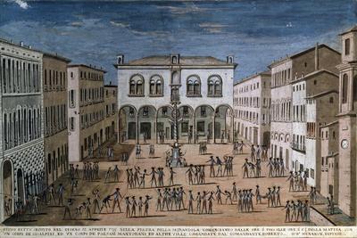 Revolutionary Conflicts at Mirandola, French Revolutionary Wars, Italy, 1799