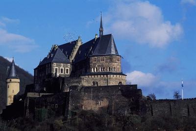 Vianden Castle, Luxembourg, 9th Century