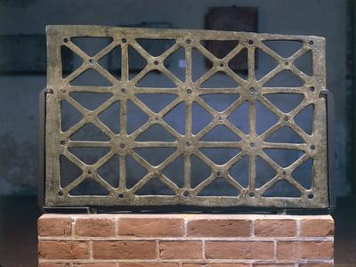 Ancient Bronze Tile, from Pavia, Italy