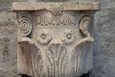 Roman Capital from Ferento, Viterbo, Lazio, Italy