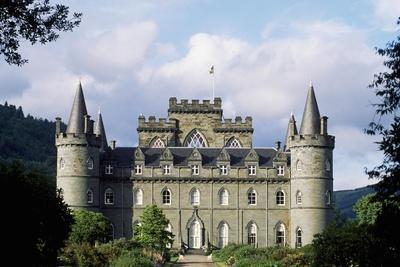 Exterior of Inveraray Castle, Argyll, Scotland
