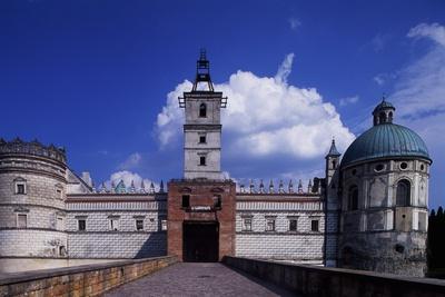 Krasiczyn Castle in Poland, 16th Century