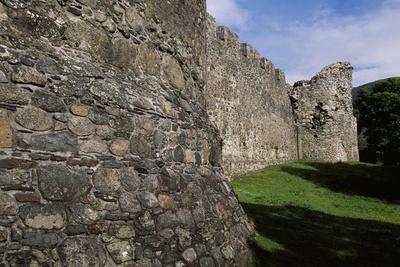 View of Inverlochy Castle, Near Fort William, Inverness-Shire, Scotland, 13th Century