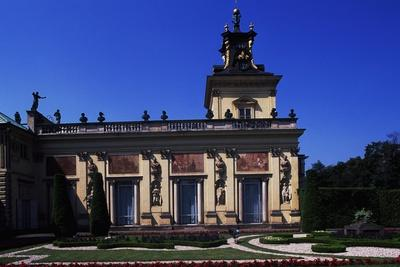 Architectural Detail from Wilanow Palace, Summer Residence of John III Sobieski in Warsaw