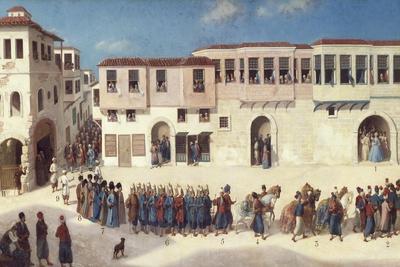 Prince of Listenois Entering Smyrna, 1766