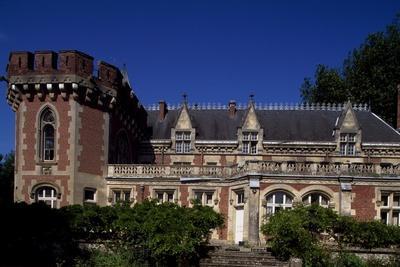 View of Chateau De Wiege-Faty, Picardy, France