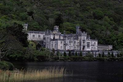 Neo-Gothic Kylemore Abbey, Connemara, County Galway, Ireland