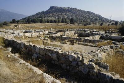 Ruins at the Western Gate, Eretria, Greece