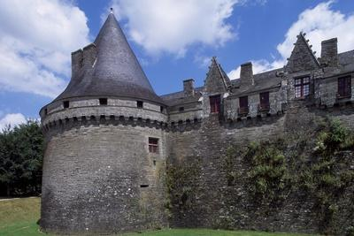 View of Rohan Castle, Pontivy, Brittany, France, 15th-16th Century