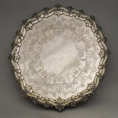 Silver Tray, 1837