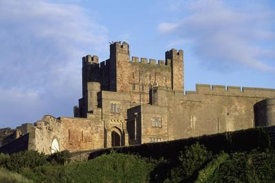 View of Bamburgh Castle, Northumberland, England, 11th Century