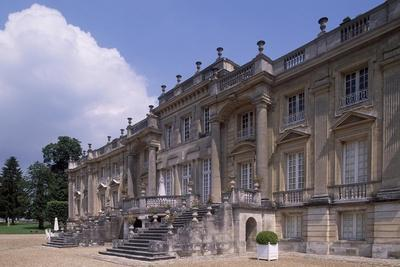 Chateau De Versigny South Facade, Picardy, France, 17th-19th Century