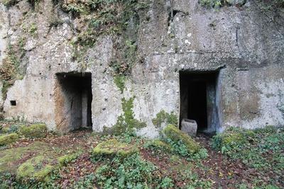 Cima Grave, Marturanum Regional Park, San Giuliano, Barbarano Romano, Lazio, Italy, 7th Century