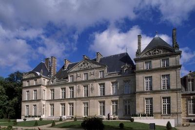 Chateau De Raray, Picardy, Detail, France