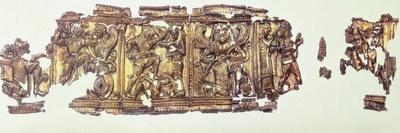 Embossed Gold Foil, Goldsmith Art