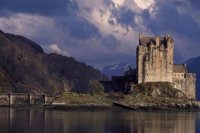 Lake Duich and Eilean Donan Castle Near Edinburgh, Scotland, United Kingdom