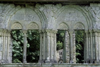 Architectural Detail from Chateau De Lucheux, Picardy, France, 12th Century