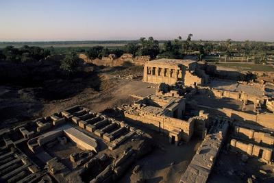 Ruins of Roman Mammisi, Temple of Hathor, Dendera, Egypt