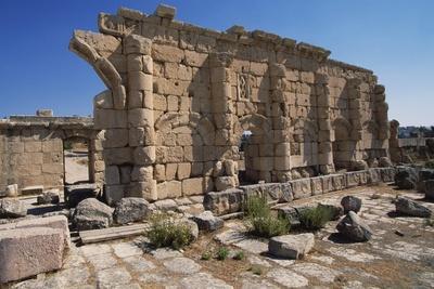 Temple of Zeus, 162, Jerash, Jordan Ad