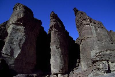 King Solomon's Pillars, Geological Formations, Timna National Park, Surroundings of Eilat, Israel