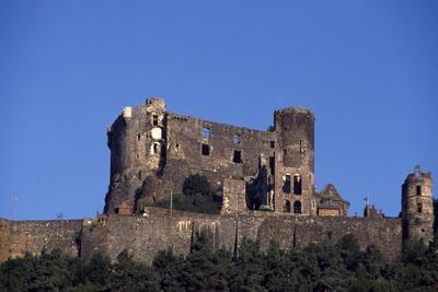 View of Chateau D'Auvergne, Murol, France, 12th-15th Century