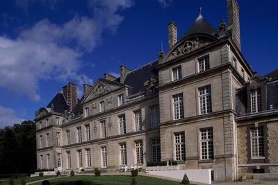 View of Chateau De Raray, Picardy, Detail, France