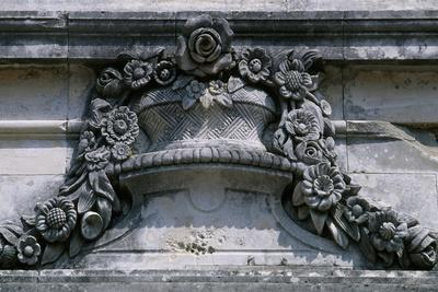 Architectural Detail of Queluz National Palace, Portugal