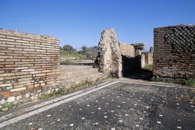 Ruins of Roman Baths, Ferento, Lazio, Italy