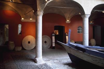 France, Chateau De Cagnes-Sur-Mer, Lower Gallery