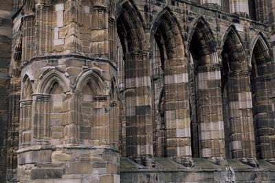 View of Holy Trinity Cathedral, Elgin, Moray, Scotland, 13th Century