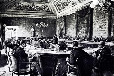 Anti-Anarchy Conference at Palazzo Corsini, Rome, November 24, 1898