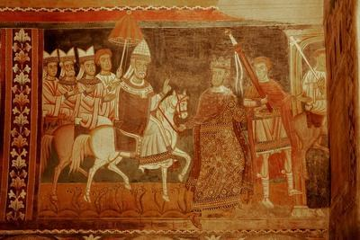 Pope Sylester Returns: Scene from the Life of Emperor Constantine and St Sylvester