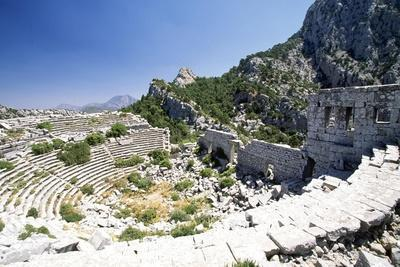 The Theatre in Termessos, Turkey Roman Civilization