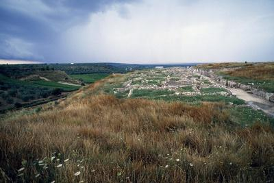 Ruins of Ancient City of Cannae, Battle of Cannae, Puglia, Italy