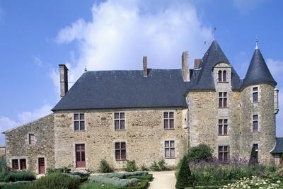 View of Logis De La Chabotterie Residence, Saint-Sulpice-Le-Verdon, Pays De La Loire, France