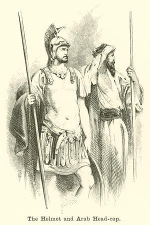 The Helmet and Arab Head-Cap