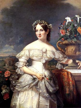 The Bride, Serena Mayer Franklin, 1838