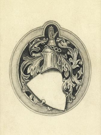 Sketch for the Millais Coat of Arms