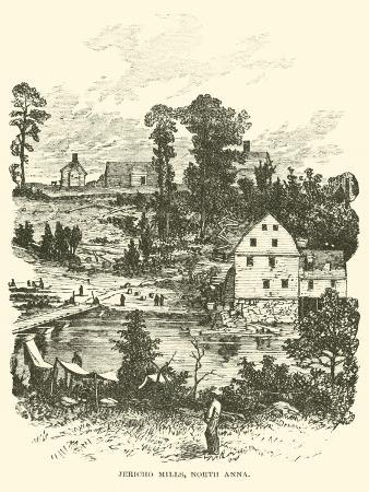 Jericho Mills, North Anna, May 1864