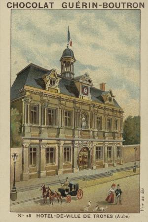 Hotel-De-Ville De Troyes, Aube