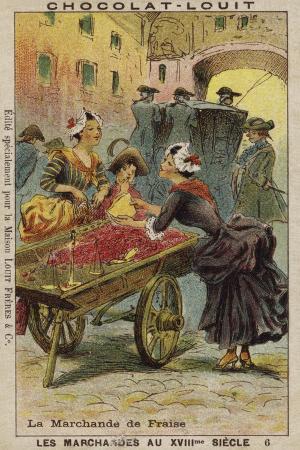 Strawberry Seller, 18th Century